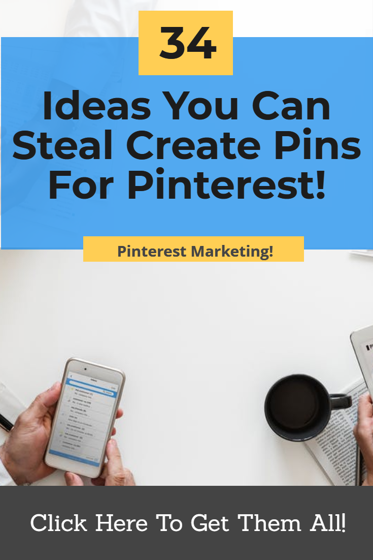 Pinterest marketing can be difficult with all the content you need. I\'m giving you 34 ideas you can start using right now to flood Pinterest with a ton of great content and get all the website traffic you want! http://www.DFYSocialMarketingContent.com #pinterestmarketing #websitetraffic #socialmediamarketing